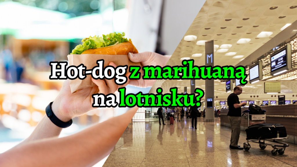 Japonka złapana na lotnisku z hot-dogiem z marihuaną.