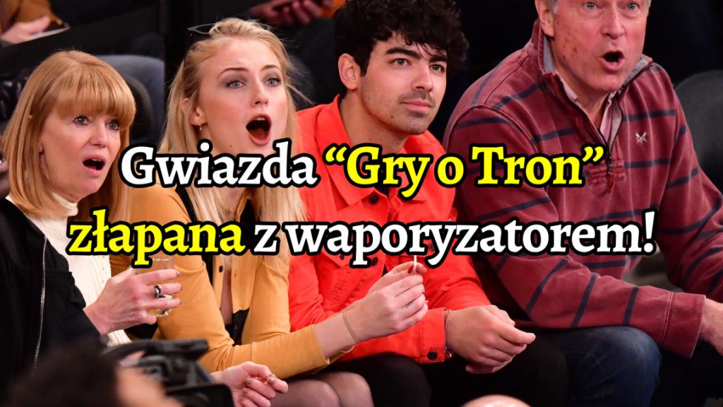 """Gwiazda """"Gry o tron"""" złapana na live streamie z ganjowym waporyzatorem"""