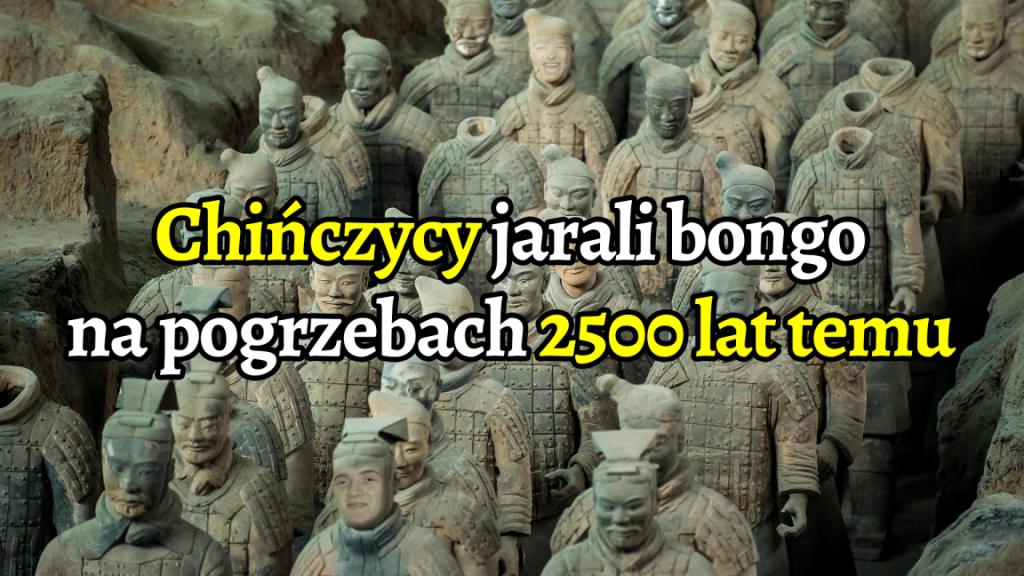 2500-letnie bongo sugeruje, że starożytni Chińczycy jarali na pogrzebach